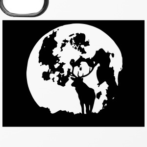 hirsch mit mond Handy & Tablet Hüllen - iPhone 4/4s Hard Case