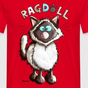 Raya Ragdoll Cat T-Shirts - Men's T-Shirt