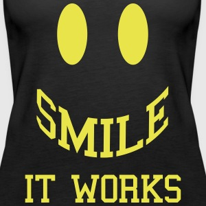 Smile It Works  Top - Canotta premium da donna