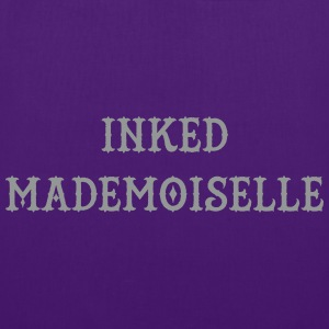 Inked Mademoiselle Bags & Backpacks - Tote Bag