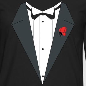 TUXEDO SUIT Weeding - Men's Premium Longsleeve Shirt
