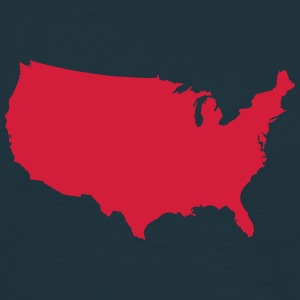 United States of America T-shirts - T-shirt herr