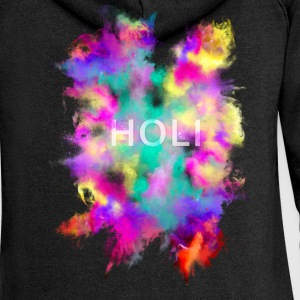 Holi Festival Hoodies & Sweatshirts - Women's Premium Hooded Jacket