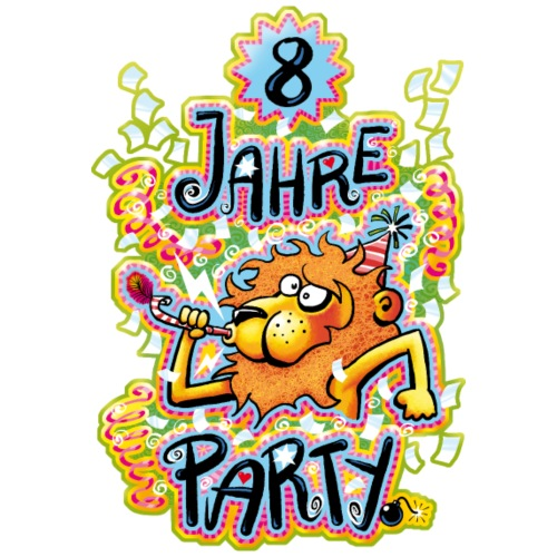 8 Jahre Party