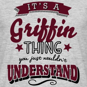 its a griffin name surname thing - Men's T-Shirt