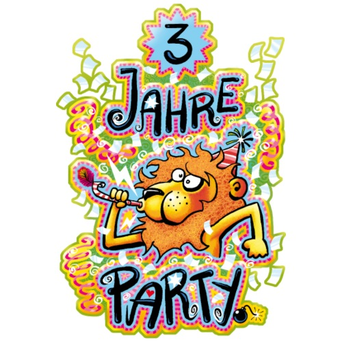 3 Jahre Party