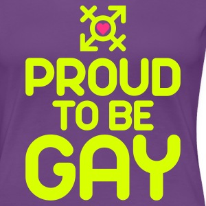 Proud to be Gay (2c) T-Shirts - Frauen Premium T-Shirt
