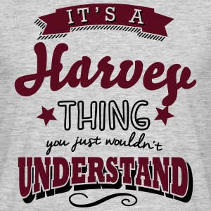 its a harvey name surname thing - Männer T-Shirt