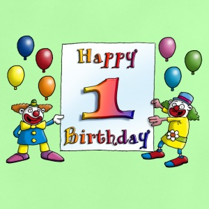 clowns_happy_birthday_a_1 T-Shirts - Baby T-Shirt