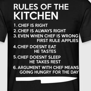 KITCHEN RULES - Men's T-Shirt