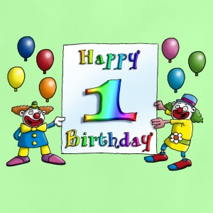 clowns_happy_birthday_c_1 T-Shirts - Baby T-Shirt