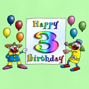 clowns_happy_birthday_c_3 T-Shirts - Baby T-Shirt