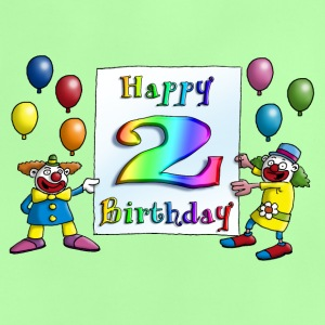 clowns_happy_birthday_c_2 T-Shirts - Baby T-Shirt