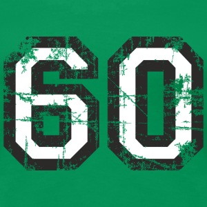 Number 60 Sixty 60th Birthday Design (EU) T-Shirts - Women's Premium T-Shirt