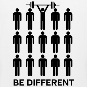 Be Different - Lift Heavy Shit Tank Tops - Men's Premium Tank Top