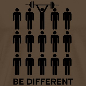 Be Different - Lift Heavy Shit Magliette - Maglietta Premium da uomo