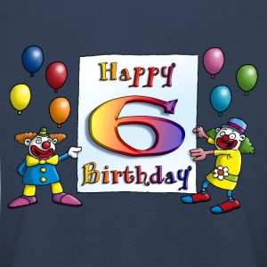 clowns_happy_birthday_a_6 Langarmshirts - Kinder Premium Langarmshirt