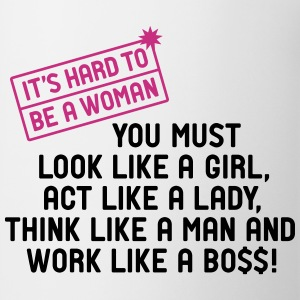 Tasse Woman work like a Boss Girls Power - Tasse