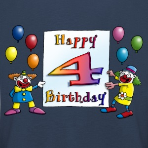 clowns_happy_birthday_a_4 Langarmshirts - Kinder Premium Langarmshirt