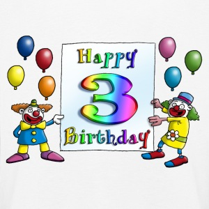 clowns_happy_birthday_c_3 Langarmshirts - Kinder Premium Langarmshirt
