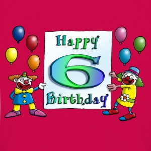 clowns_happy_birthday_b_6 Langarmshirts - Kinder Premium Langarmshirt