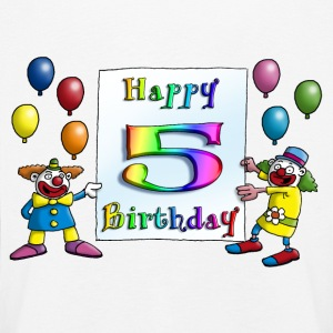 clowns_happy_birthday_c_5 Langarmshirts - Kinder Premium Langarmshirt