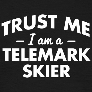 NEW trust me i am a telemark skier - Men's T-Shirt