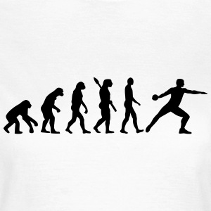 Evolution Diskuswerfen T-Shirts - Frauen T-Shirt