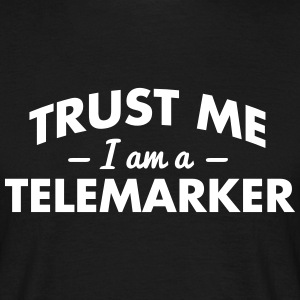 NEW trust me i am a telemarker - Men's T-Shirt