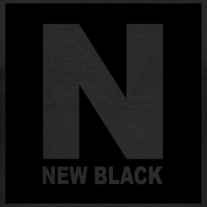New Black ... Black Label - Männer Slim Fit T-Shirt