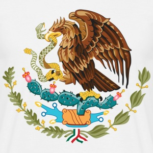 mexico_coat_of_arms T-shirts - Mannen T-shirt