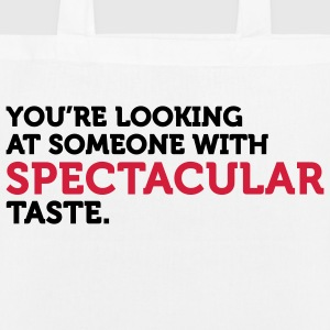 I have spectacular taste Bags & Backpacks - EarthPositive Tote Bag