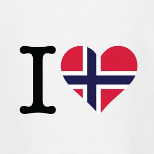 I love Norway Shirts - Teenage T-shirt