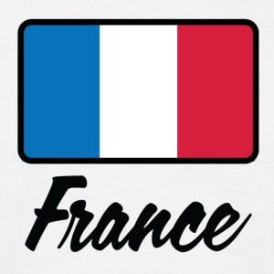 National flag of France T-Shirts - Men's T-Shirt