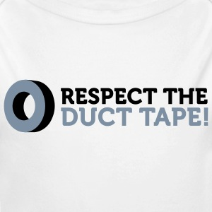Respect the Duct Tape! Baby Bodysuits - Longlseeve Baby Bodysuit