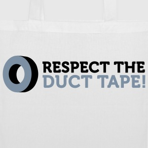Respect the Duct Tape! Bags & Backpacks - Tote Bag