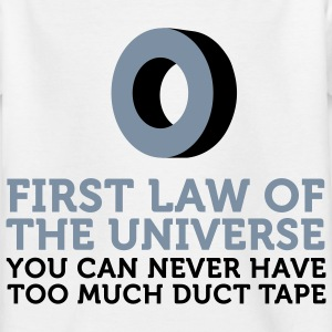 One can never have too much duct tape! Shirts - Kids' T-Shirt