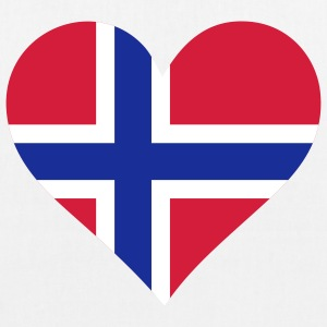 A heart for Norway Bags & Backpacks - EarthPositive Tote Bag