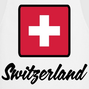 National flag of Switzerland  Aprons - Cooking Apron