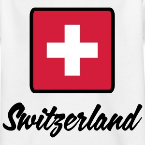 National flag of Switzerland Shirts - Kids' T-Shirt