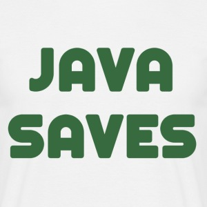 Java Saves (The Walking Dead) - Men's T-Shirt