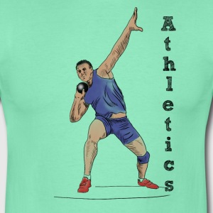 athletics T-shirts - Herre-T-shirt