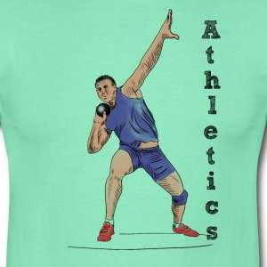athletics T-shirts - T-shirt herr