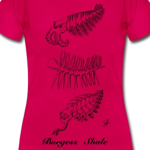 Burgess Shale Shirt woman - Frauen T-Shirt