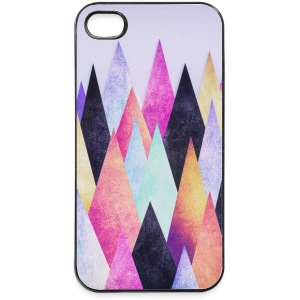 Hipster triangles (geometry) Abstract Mountains  Phone & Tablet Cases - iPhone 4/4s Hard Case