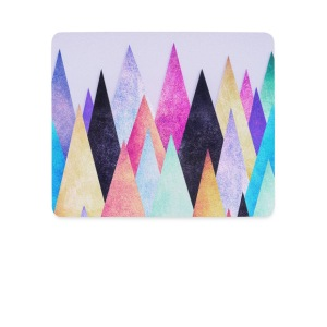 Hipster triangles (geometry) Abstract Mountains  Autres - Tapis de souris (format paysage)