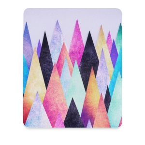 Hipster triangles (geometry) Abstract Mountains  Altro - Tappetino per mouse (verticale)