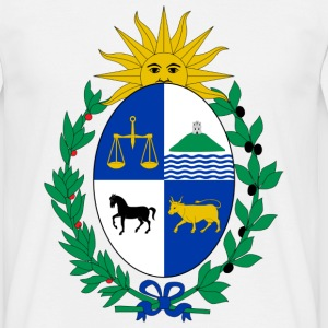 Coat of arms of Uruguay T-shirts - Herre-T-shirt