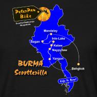 Grafiikka ~ Burma Scootterilla unisex short