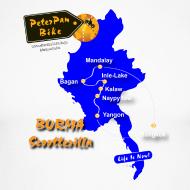 Grafiikka ~ Burma Scootterilla unisex long